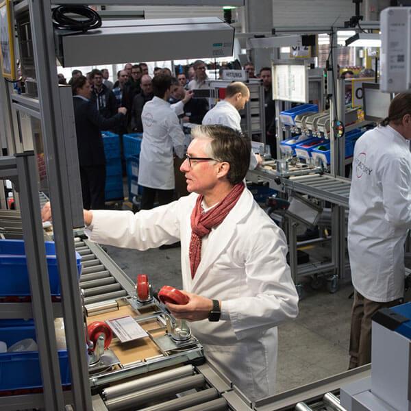 L-mobile Digitalisierte Produkte Lean Factory
