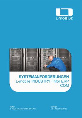 Systemanforderungen L-mobile CRM sales und serivce ready for Infor ERP COM