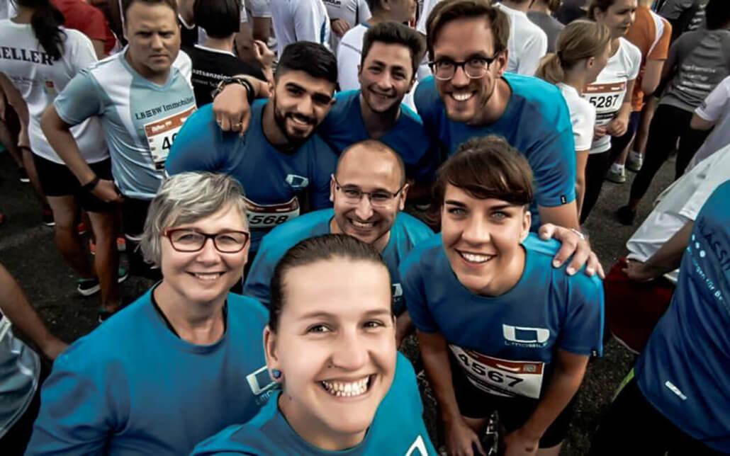 Get your life L-mobilized L-mobile Events B2Run Stuttgart 2018