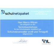 L-mobile Hardware Zertifikat Schulnetzverwalter Macro Witzan