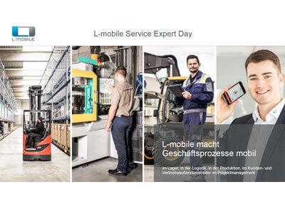 L-mobile Digitales Service Management L-mobile service expert day Vortrag Böhm Hüls L-mobile