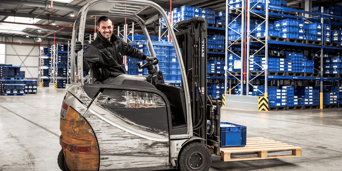 L-mobile Digitalisierte Lagerlogistik Infothekbeitrag L-mobile warehouse 2019