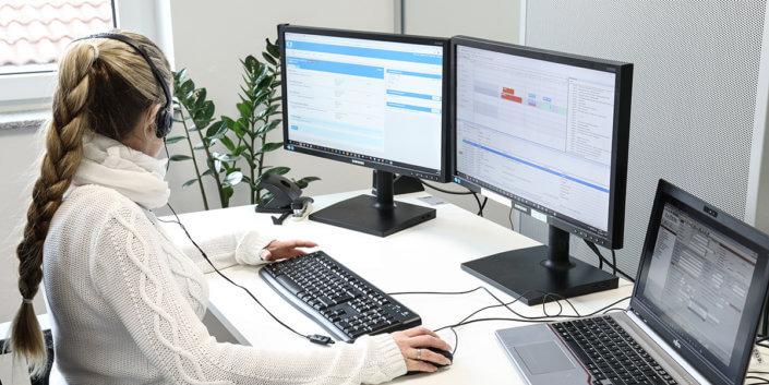 L-mobile Digitales Service Management Funktionen Integration in ERP