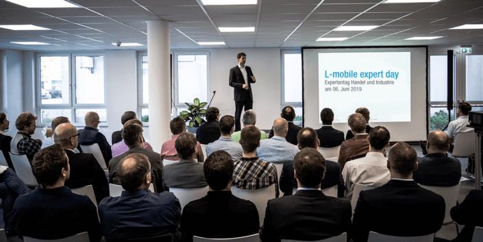 L-mobile Digitalisierte Softwarelösungen Infothekbeitrag L-mobile expert day Juni 2019