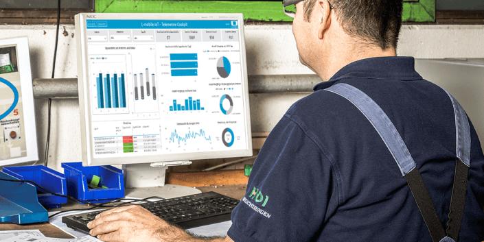 L-mobile Digitalisierte Softwarelösungen Infothekbeitrag IoT in Lager und Produktion