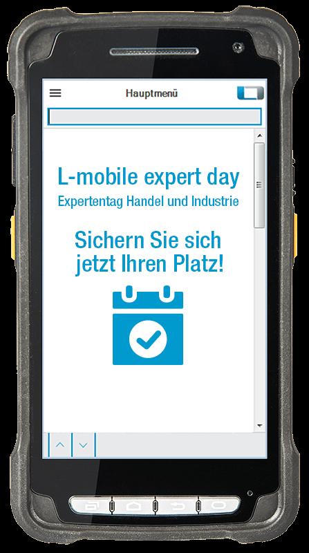 L-mobile Digitalisierte Lagerlogistik_Veranstaltung_Expertday