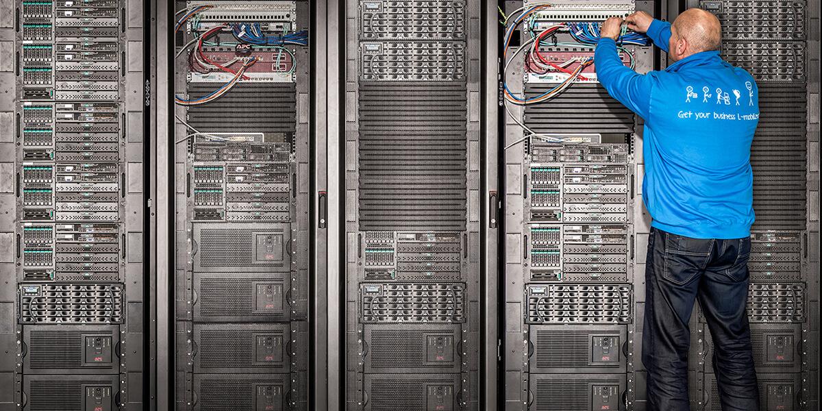 L-mobile Hardware Netzwerk-Sicherheit UTM