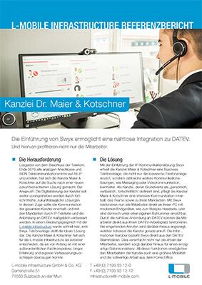 L-mobile Hardware Swyx IP Telefonanlagen Referenzbericht Kanzlei Maier