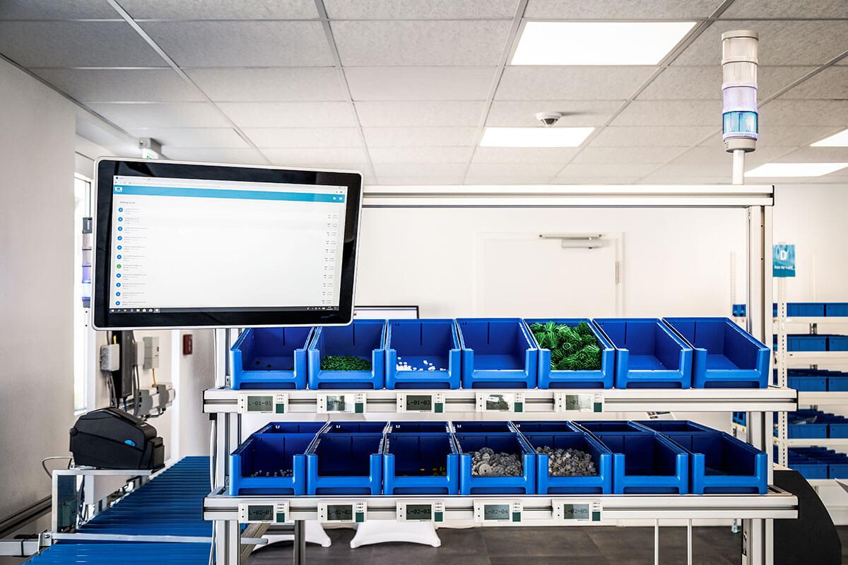 L-mobile Digital Factory - die papierlose Produktion Losgröße 1 Arbeitsplatz detailansicht