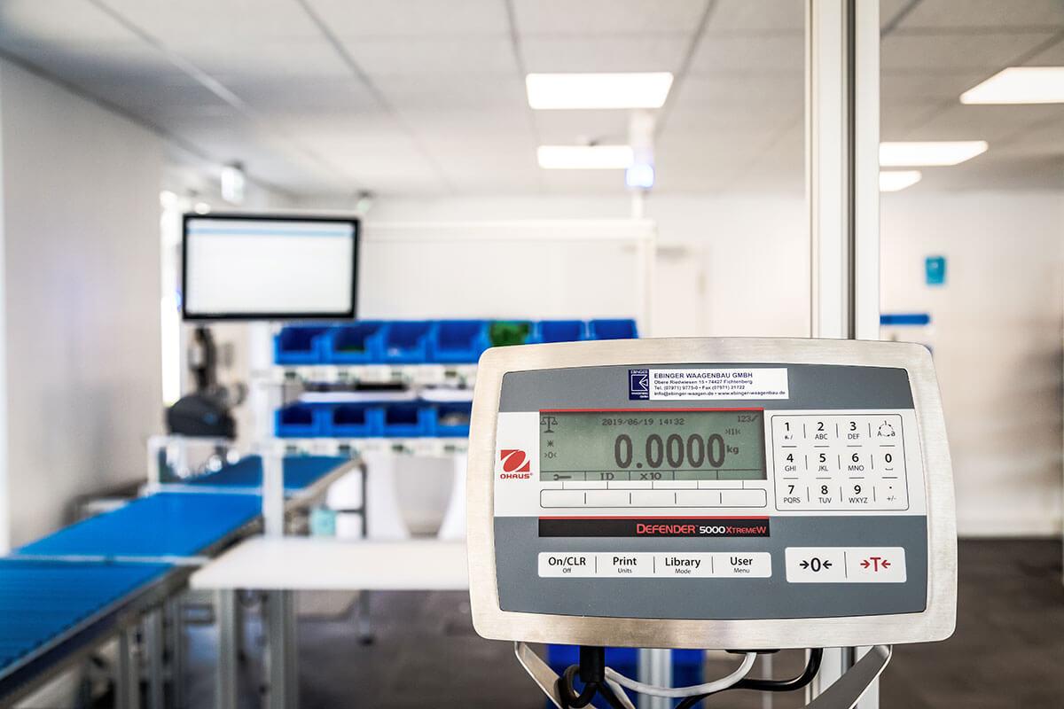 L-mobile Digital Factory - die papierlose Produktion elektronische Waage Kommissionierauftragskontrolle
