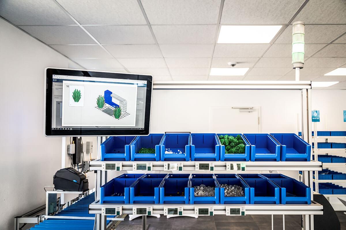 L-mobile Digital Factory - die papierlose Produktion Losgröße 1 Arbeitsplatz Übersicht