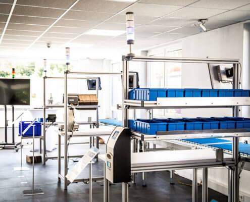 L-mobile Digital Factory - die papierlose Produktion Arbeitsplätze