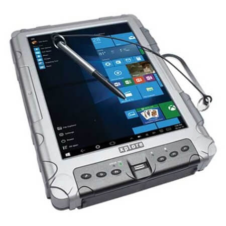 Zebra XC6 DMCR Tablet - 10,4