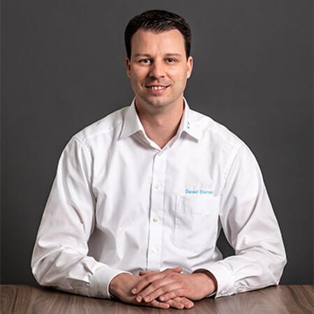 L-mobile infrastructure munkatárs Daniel Diemer ügyvezető igazgató