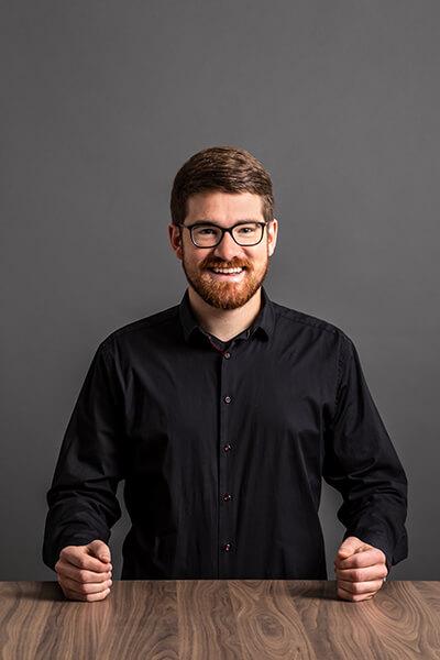 Unser Mitarbeiter Jakob Schäfer