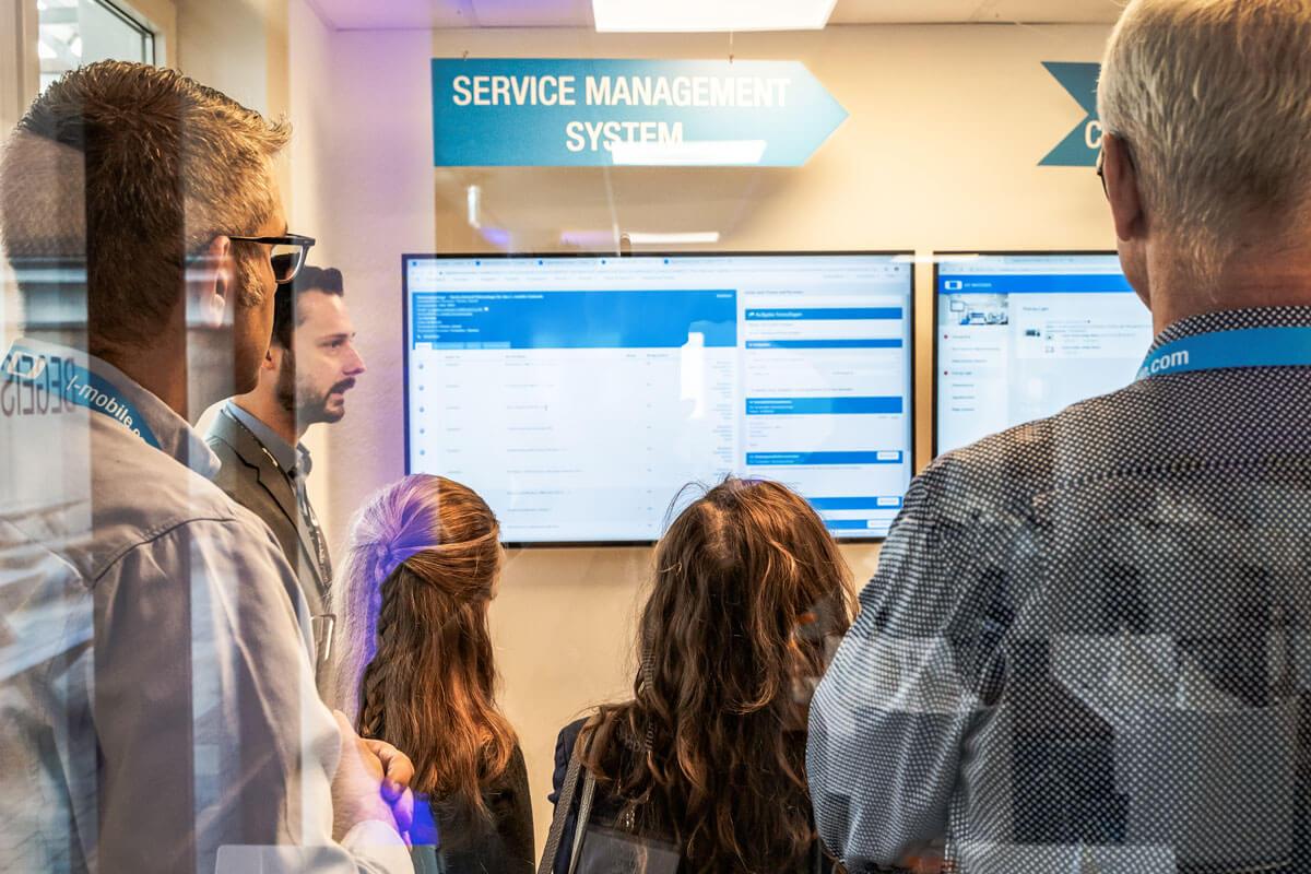 Digitales Service Management im Digital Service Center