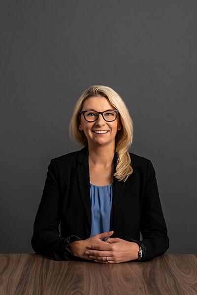 L-mobile Mitarbeiterin Jana Kolb