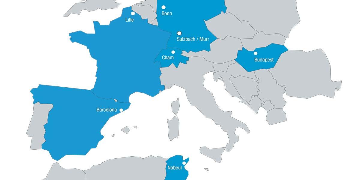 L-mobile Löchner Group AG Unternehmensstandorte