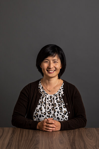 L-mobile Mitarbeiterin Jia Liu