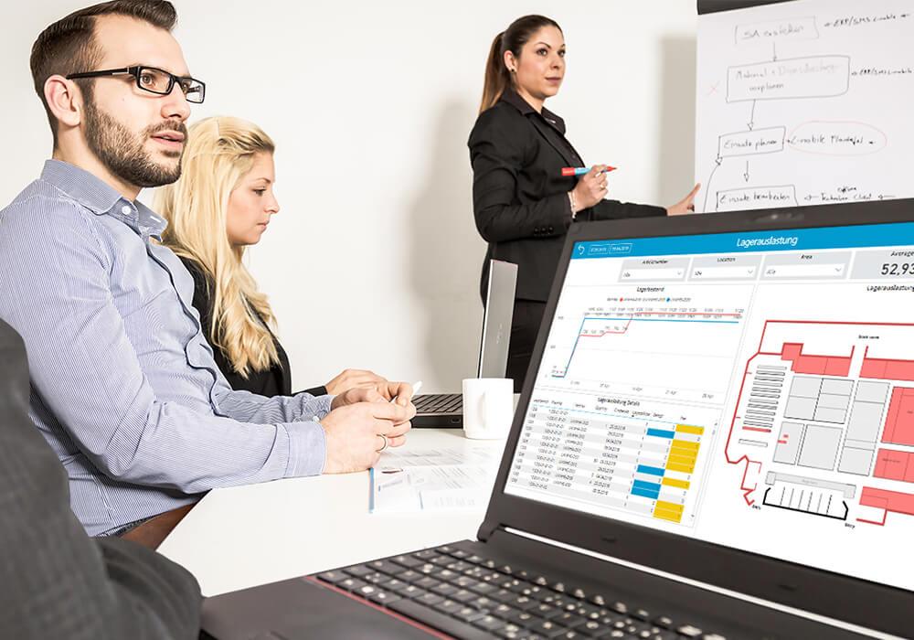 Echtzeit-Reporting und Smarte Unternehmenssteuerung L-mobile reporting