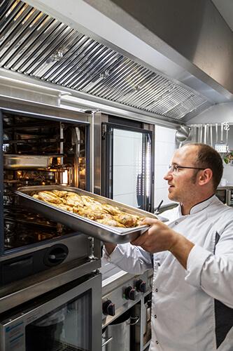 L-mobile Firmenküche Cooki luki