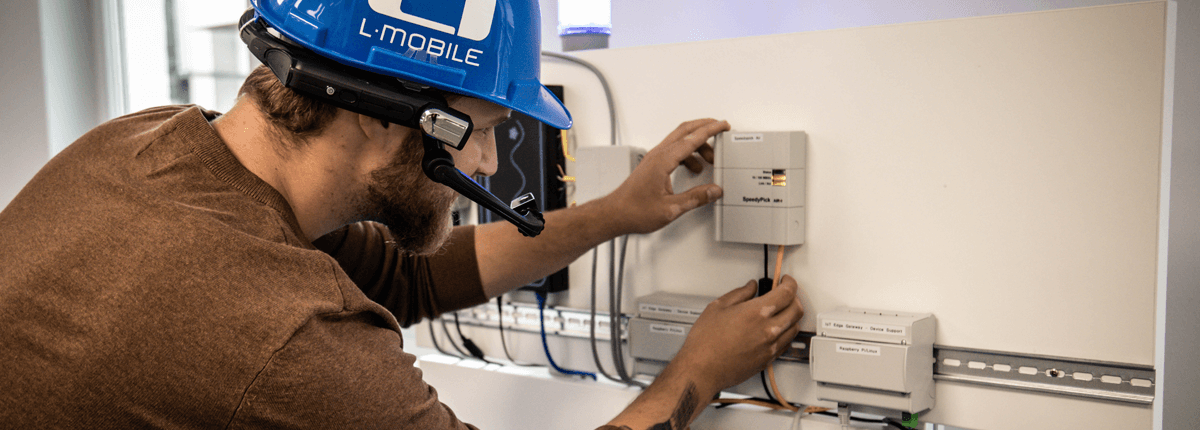 L-mobile Digitalisiertes Field Service Management mit Augmented Reality