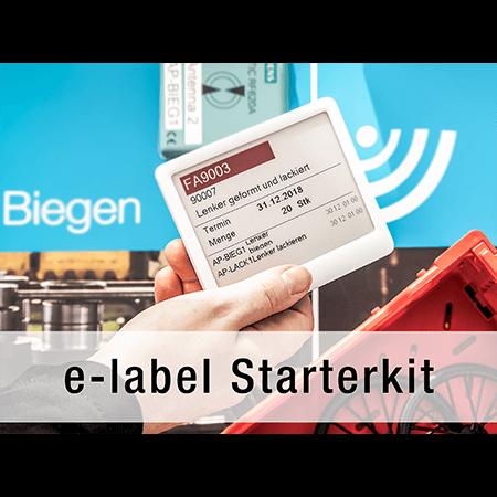 L-mobile e-label starterkit elektronisches Etikett