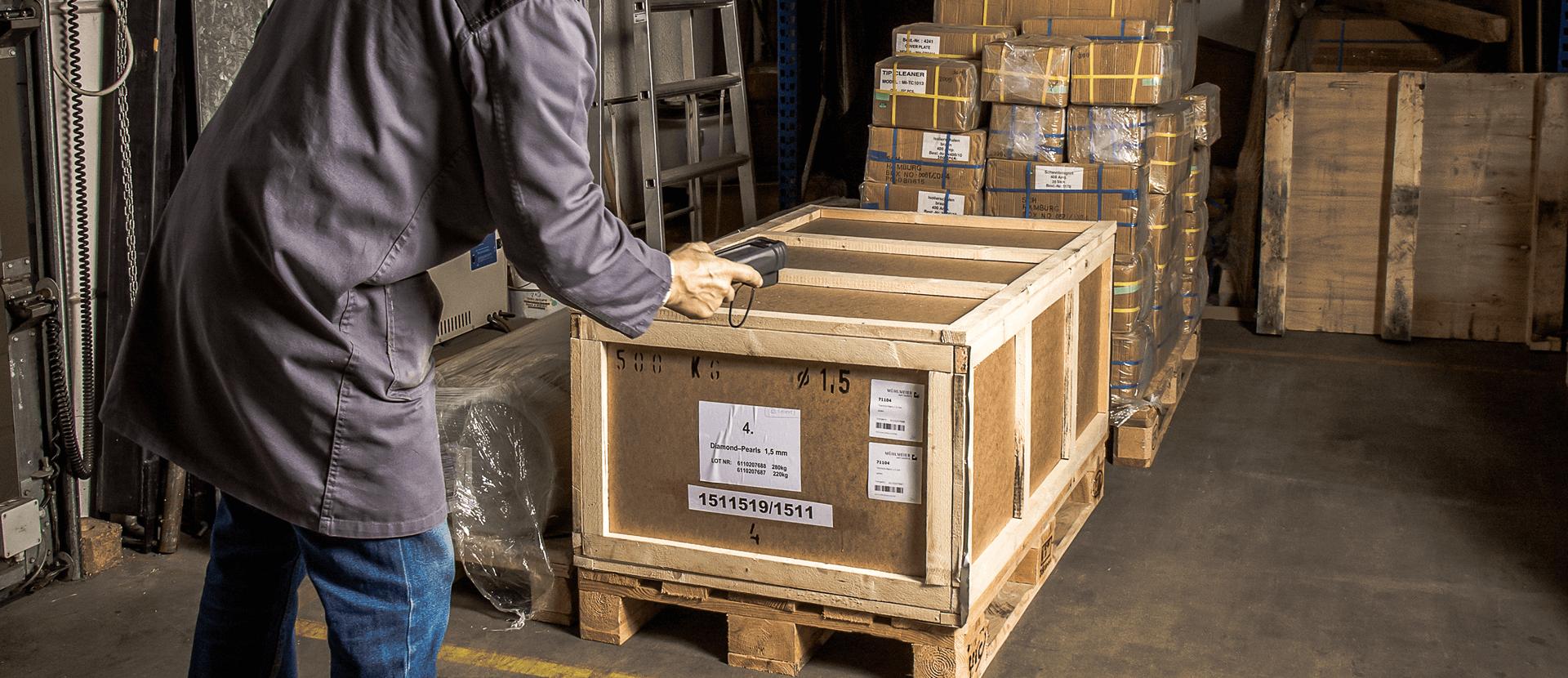 L-mobile Digitalisierte Lagerlogistik Fehlteilesteuerung zwischen Wareneinangen und Produktion für Sage 100 / Office Line