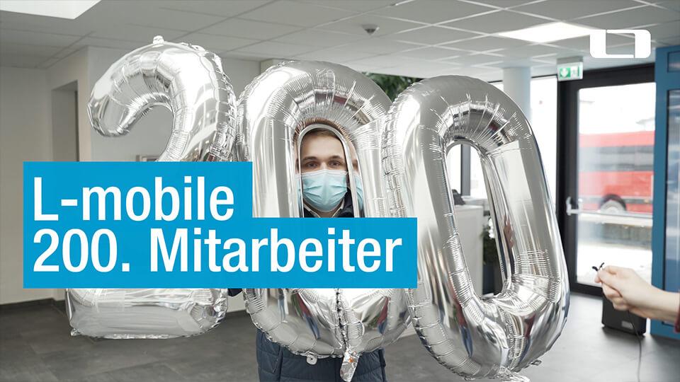 200 Mitarbeiter bei L-mobile