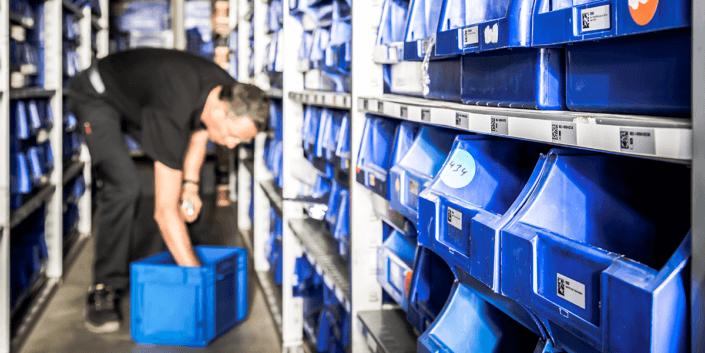Mobile Lagerverwaltung für Microsoft Dynamics NAV und Business Central Bestandskontrolle