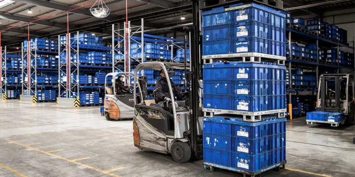Mobile Lagerverwaltung für Microsoft Dynamics NAV und Business Central Sammelumlagerung