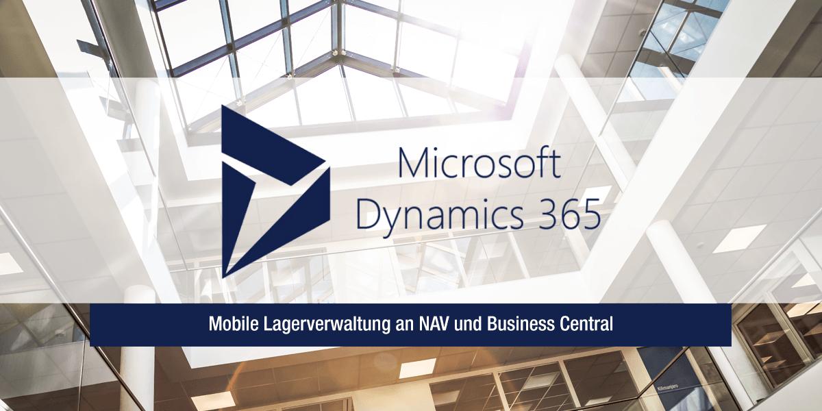 Mobile Lagerverwaltung für NAV und Business Central