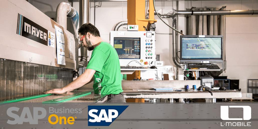L-mobile Digitalisierte Produktion mit SAP Business One