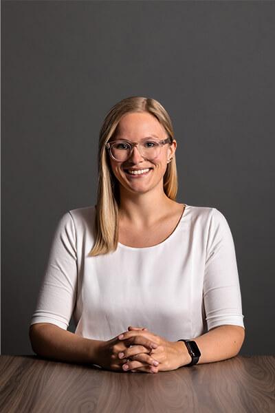 L-mobile Mitarbeiterin Lisa Kapanke