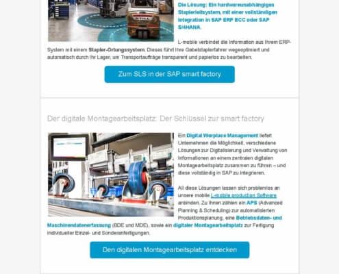 Praxis-Info SAP smart factory und L-mobile – Die digitale Transformation selbst in die Hand nehmen_Seite_2