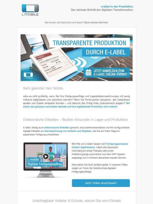 Praxis-Info e-label_ Der Schlüssel für digitalisierte Fertigungsprozesse_Seite_1
