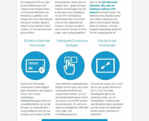Praxis-Info e-label_ Der Schlüssel für digitalisierte Fertigungsprozesse_Seite_2