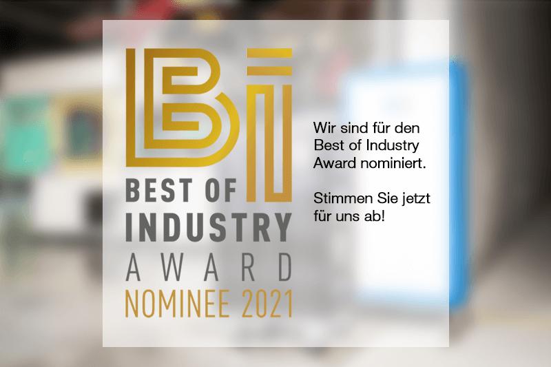 L-mobile Best of Industry Award 2021 Fertigungsprozess mit UWB - Elektronische Etiketten