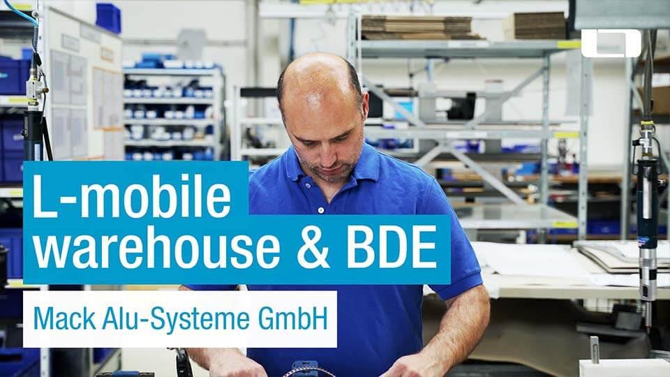 warehouse & bde infor COMmack alu-systeme