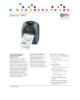 Flyer – Zebra P4T Mobiler Drucker