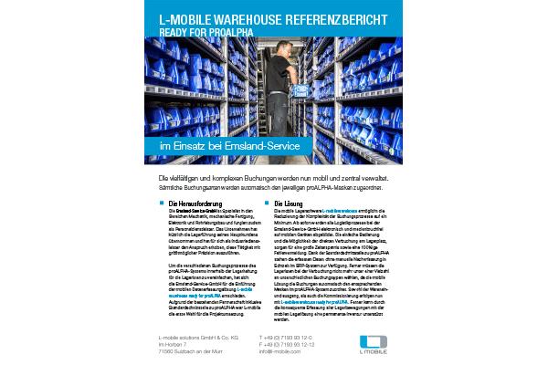 Referenzbericht – L-mobile warehouse ready for proALPHA ...