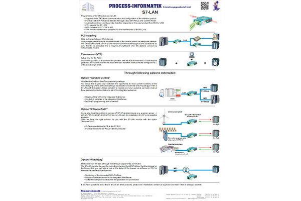 Flyer – Siemens S7-LAN